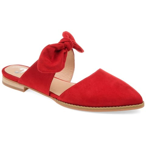 fd0547b7a1c08 Buy Red Women s Flats Online at Overstock