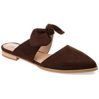3ca1e665faef Buy Brown Women s Flats Online at Overstock