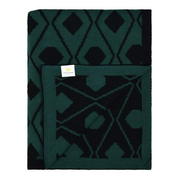 Triangles - Daza Collection - Cotton throw blanket