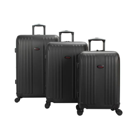 American Flyer Moraga 3-Piece Expandable Hardside Spinner Luggage Set - 18.9 In. X 12.2 In. X 29.5 In