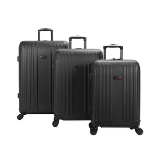 Link to American Flyer Moraga 3-Piece Expandable Hardside Spinner Luggage Set - 18.9 In. X 12.2 In. X 29.5 In Similar Items in Luggage Sets