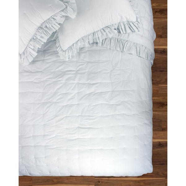 Cotton Veil Collection Delilah Ruffle Quilt Set