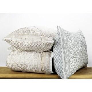 Cotton Veil Collection Sun Tile Quilt Set