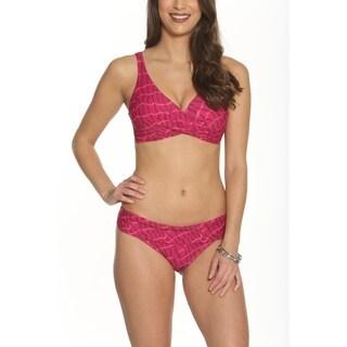 Betty's Beach Bungalow Criss Cross Bikini Top and Bikini Bottom - Set