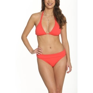 Betty's Beach Bungalow Triangle Bikini Top and Fold Over Bottom - Set