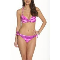Betty's Beach Bungalow Underwire Moulded Top and Side Tie Bottom - Set