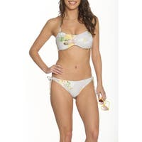 Betty's Beach Bungalow Bandeau Top and Side Tie Bottom - Set