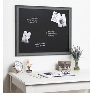 Kate and Laurel Kenwick Framed Magnetic Chalkboard - 27x33