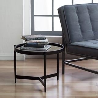 "Studio Designs Home Estrade Modern 22"" Round Side Table"