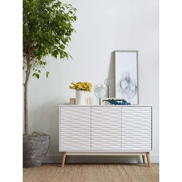 Elle Decor Aurie Sideboard French White