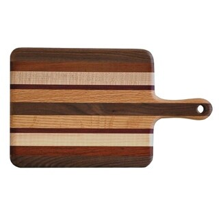 Exotic Wood Paddle Cutting Board