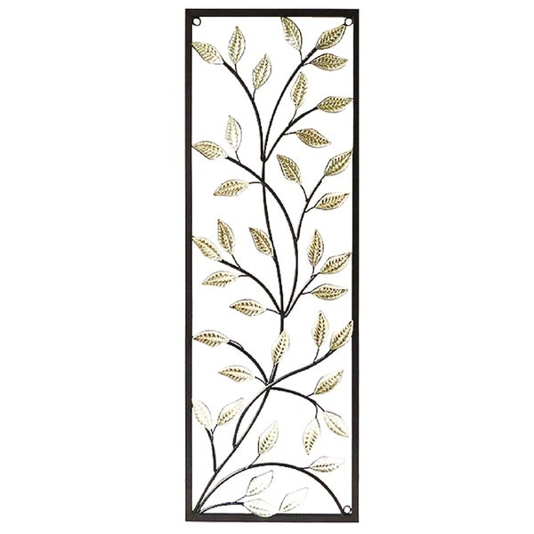 Essential Decor & Beyond Leaves on Branches Metal Wall Decor EN2074