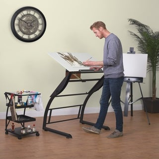 Studio Designs Triflex Standing Height Adjustable Drawing Table