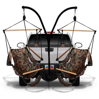 Link to Hammaka Trailer Hitch Stand with Camo Cradle Chairs Combo Similar Items in Camping & Hiking Gear