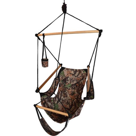 Hammaka Hammocks Cradle Hanging Air Chair In Camo