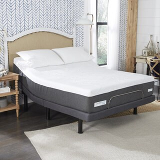 ComforPedic from BeautyRest 12-inch Queen-size NRGel Adjustable Mattress Set