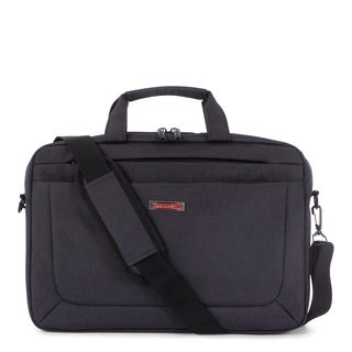 Swiss Mobility Cadence 2 Section Briefcase - Polyester