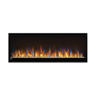 Alluravision 42-inch Slim Wall Mount Electric Fireplace with Remote Control