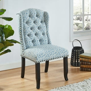 Link to Furniture of America Telara Patterned Dining Chairs (Set of 2) Similar Items in Dining Benches