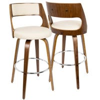 Carson Carrington Alingsas Mid-century Modern Bar Stool (Set of 2)