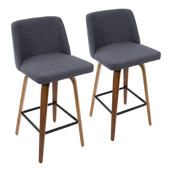 Carson Carrington Oscar Mid-century Modern Counter Stool (Set of 2)