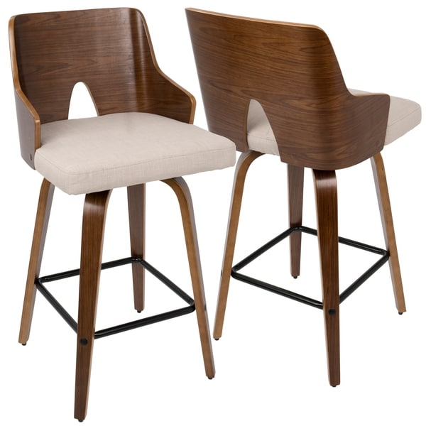 Carson Carrington Cranagh 26-inch Modern Counter Stool (Set of 2). Opens flyout.