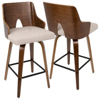 Carson Carrington Cranagh 26-inch Swivel Counter Stool (Set of 2)
