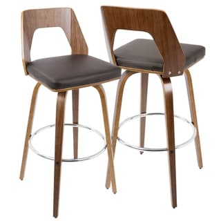 Carson Carrington Culnady Mid-century Modern Bar Stool (Set of 2)