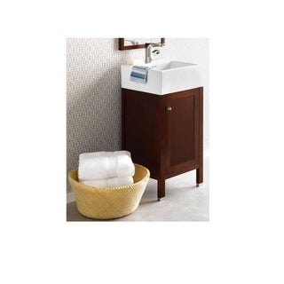 Shop Ceramic Top 30 Inch Sink Cherry Bathroom Vanity And