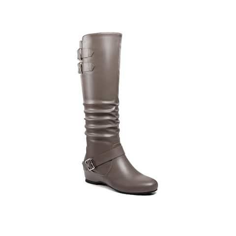 Ann Creek Women's 'Traleo' Buckle Strap Boots