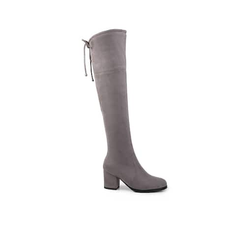 Ann Creek Women's 'Delica' Over-the-Knee Slouch Boots