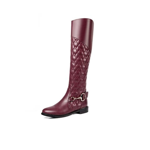 b10cc11a5a3 Ann Creek Women s  Romero  Stitch Patterned Tall Boots