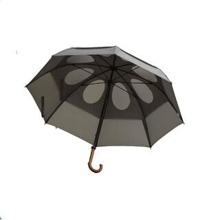 GustBuster Classic 62-Inch Doorman Automatic Open Umbrella, Suit Grey