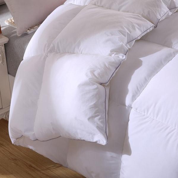Twin Ducks Canadian Origin White Down Comforter-Bromont