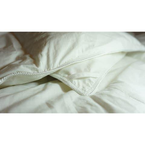 Twin Ducks Canadian Origin White Down Comforter-Bedford
