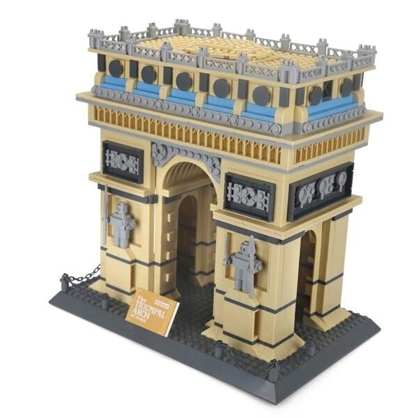 The Triumpal Arch of Paris. Opens flyout.