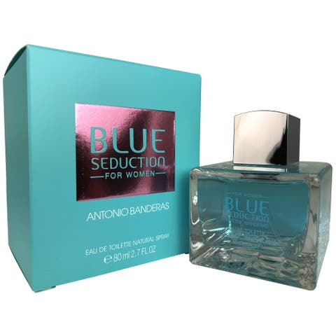 Antonio Banderas Blue Seduction Women's 2.7-ounce Eau de Toilette Spray