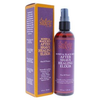 Shea Moisture Honey & Black Seed 4-ounce After Shave Healing Elixir