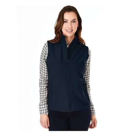 Charles River Women's Classic Soft Shell Vest, Navy