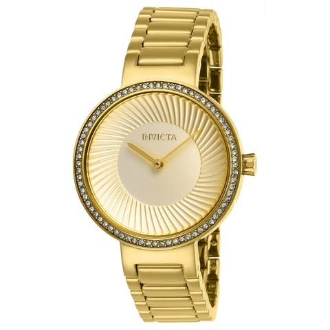 Invicta Women's 27001 'Specialty' Gold-Tone Stainless Steel Watch