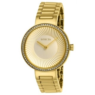 Invicta Women's Specialty 27001 Gold Watch