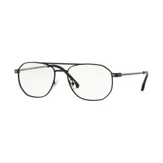 Versace VE1252 Men's Matte Black Frame Demo Lens Eyeglasses