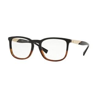 Versace VE3252 Men's Black/Havana Frame Demo Lens Eyeglasses