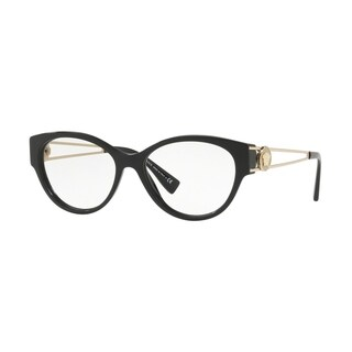 Versace VE3254 Women's Black Frame Demo Lens Eyeglasses