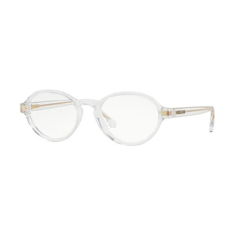 a216a505e74 Versace VE3259 Women s Crystal Frame Demo Lens Eyeglasses