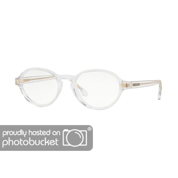 89c59fd5526 Shop Versace VE3259 Women s Crystal Frame Demo Lens Eyeglasses - Free  Shipping Today - Overstock - 25463303