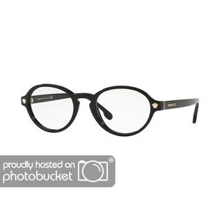 Versace VE3259 Women's Black Frame Demo Lens Eyeglasses