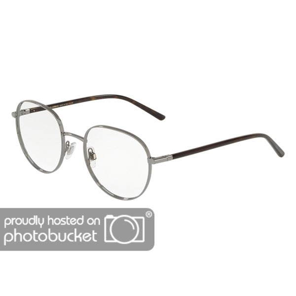 2daa022a7045 Shop Dolce   Gabbana DG1304 Men s Gunmetal Frame Demo Lens Eyeglasses -  Free Shipping Today - Overstock - 25463333