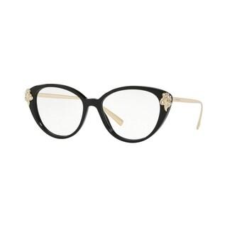 Versace VE3262B Women's Black Frame Demo Lens Eyeglasses