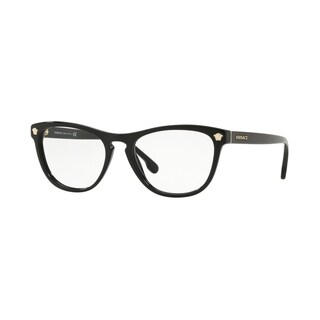 Versace VE3260 Women's Black Frame Demo Lens Eyeglasses